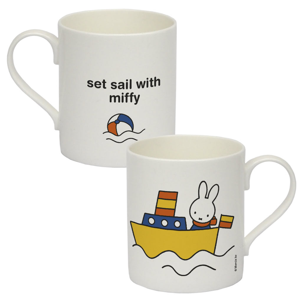 set sail with miffy Personalised Bone China Mug