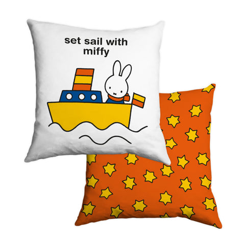 set sail with miffy Personalised Cushion