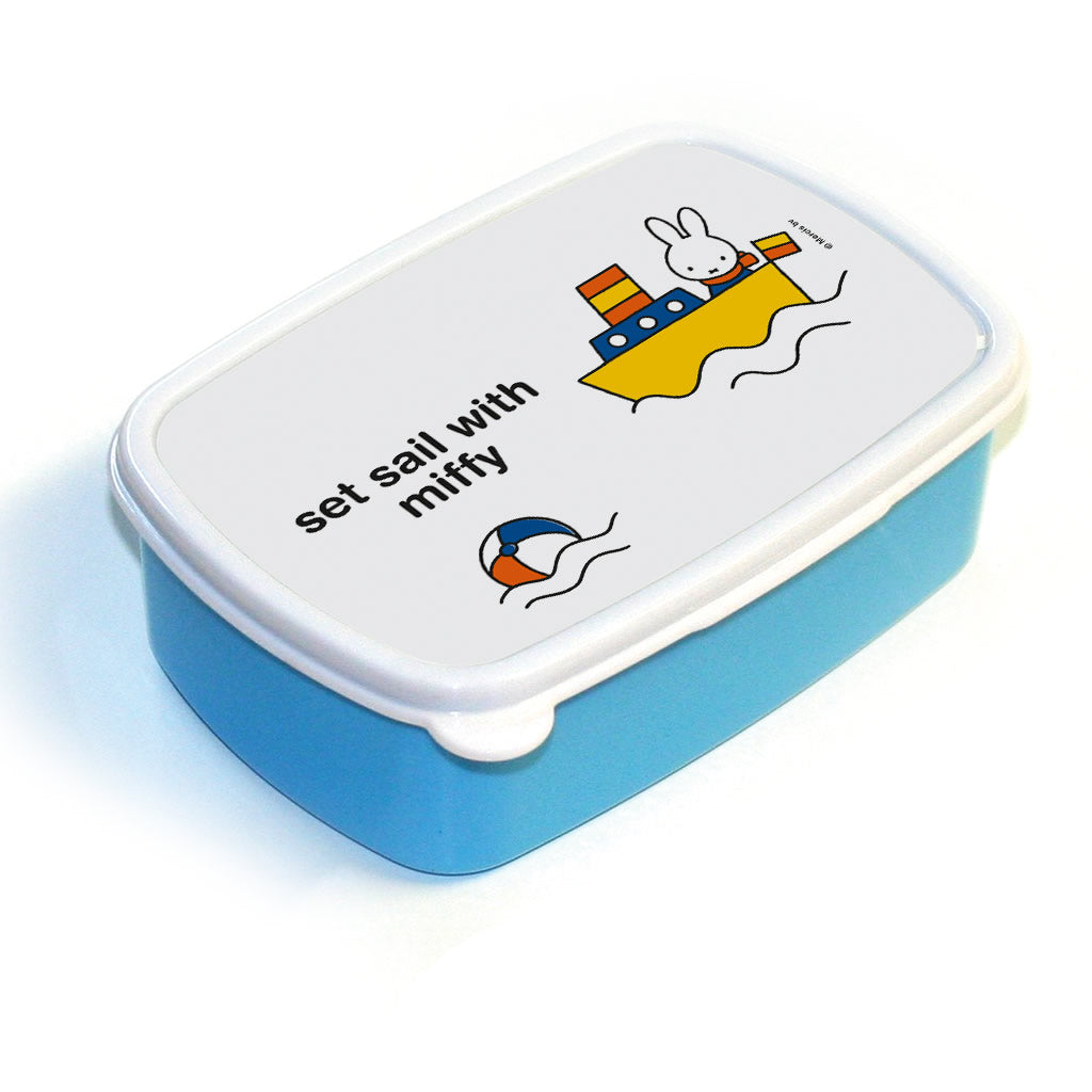 set sail with miffy Personalised Lunchbox
