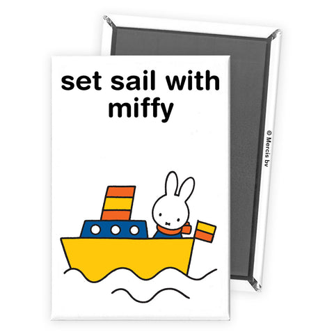 set sail with miffy Personalised Magnet