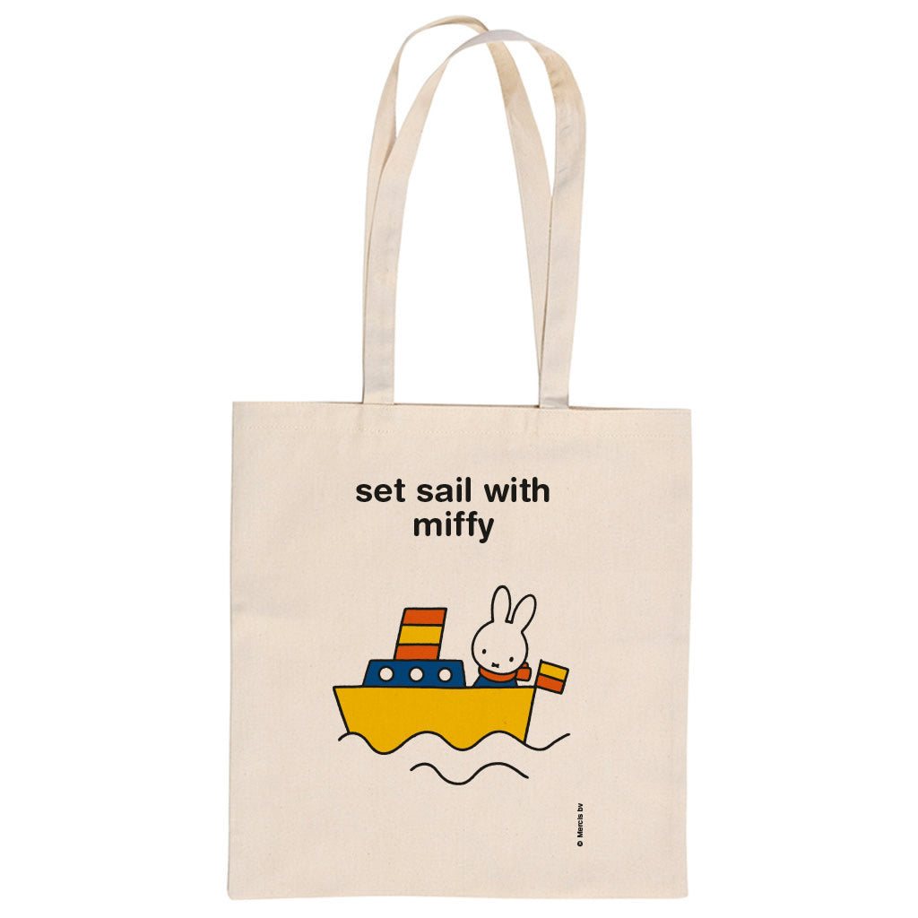 set sail with miffy Personalised Tote Bag