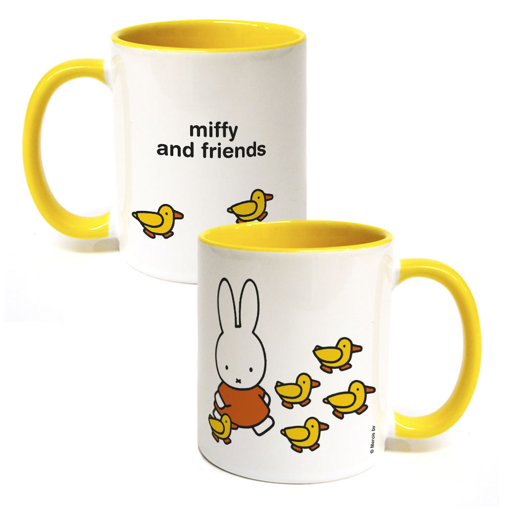 Miffy & Friends Ducks Personalised Coloured Insert Mug