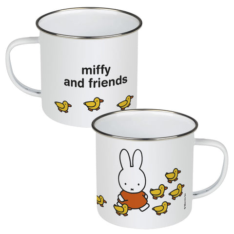 Miffy & Friends Ducks Personalised Enamel Mug