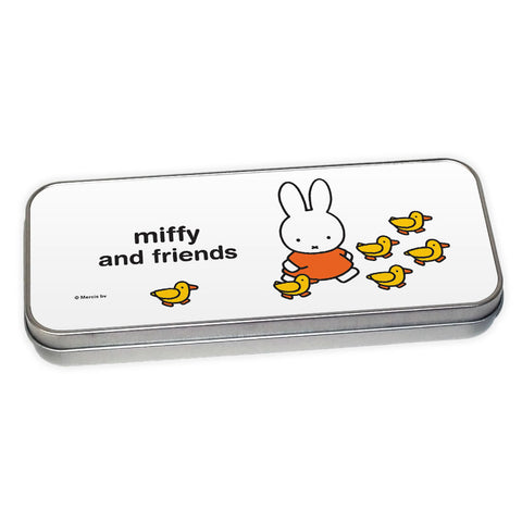 Miffy & Friends Duckies Personalised Pencil Tin