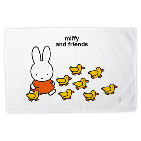 Miffy & Friends Ducks Personalised Tea Towel