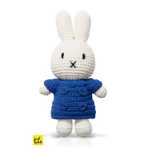Miffy Handmade crochet and her blue jacket