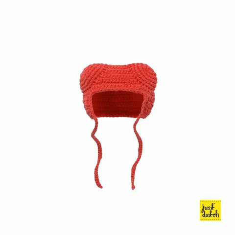 Boris Handmade crochet clothes red hood