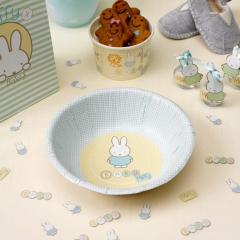 Miffy Baby Party Bowls - 8 Pack