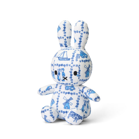 Miffy Delft Pattern Plush