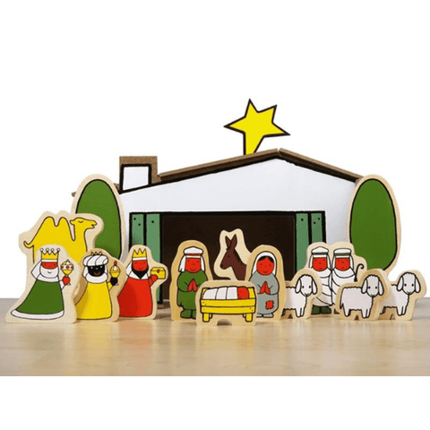 dick bruna wooden nativity scene