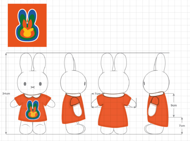 Limited Edition Miffy Evolution Plush - A Fashion Student's Perspective
