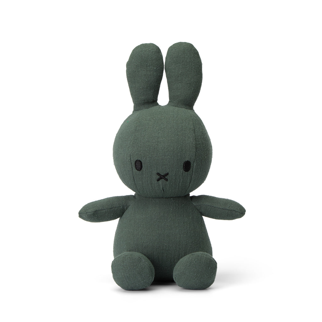 Miffy Green Mousseline Plush