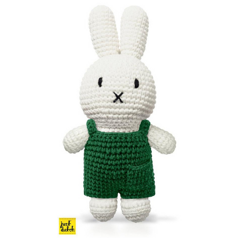 Miffy Handmade crochet and her green overall