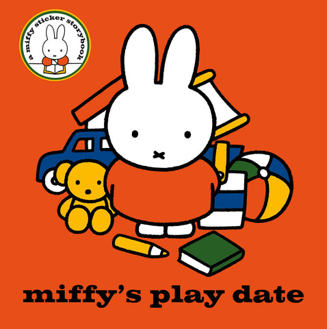 Miffy's Play Date Book Dress-Up Colouring and Sticker Book