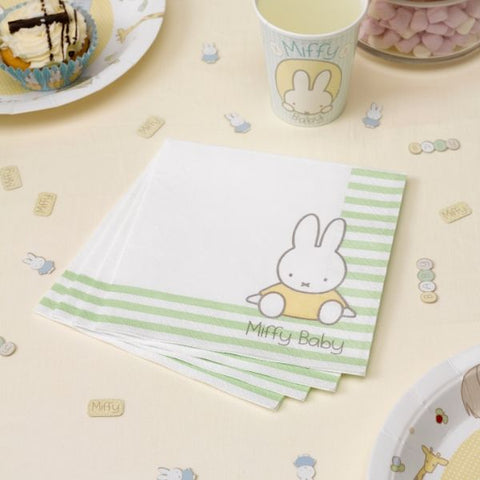 Miffy baby napkins - 16 pack