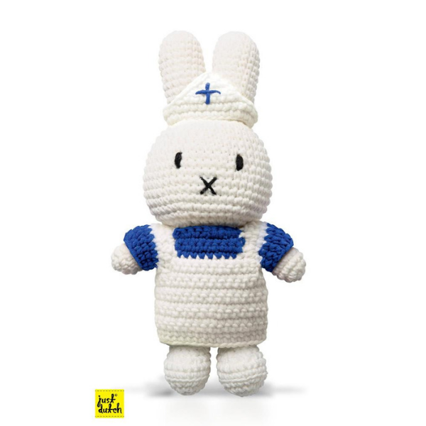 Miffy Handmade crochet and her white uniform