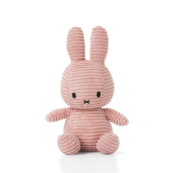 Miffy Sitting Corduroy Plush (3 colours available)