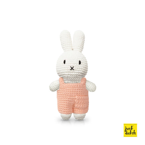 Miffy Handmade crochet and her pink overall