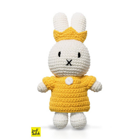 Miffy Handmade crochet and her yellow queen set