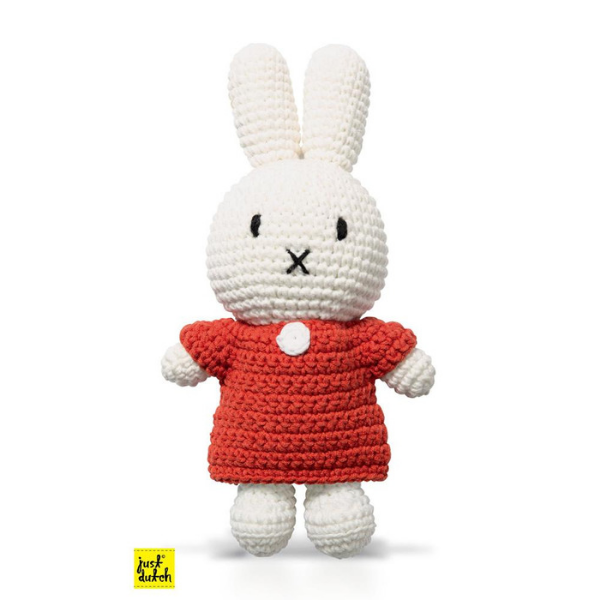 Miffy Handmade Crochet & Her Red Dress