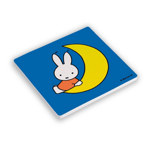 Miffy Moon Ceramic Coaster