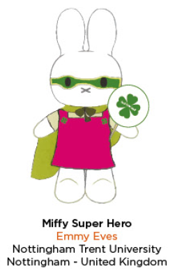 Limited Edition Miffy Super Hero Plush - A Fashion Student's Perspective