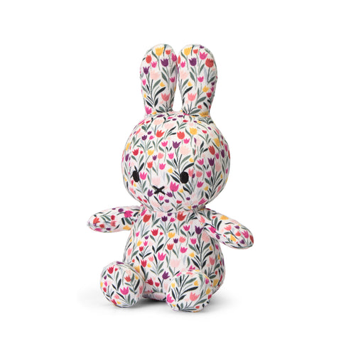 Miffy Tulip Pattern Plush