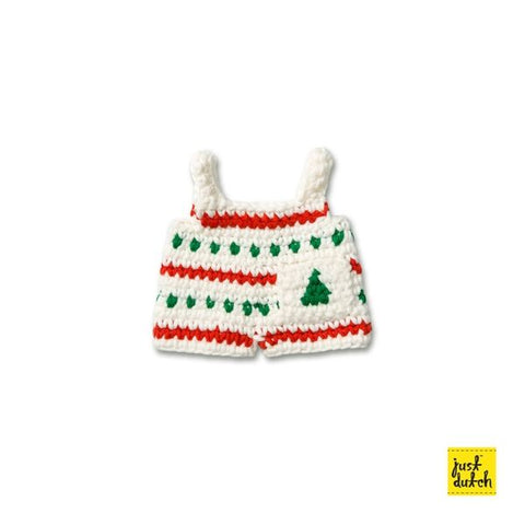 Miffy handmade clothes Christmas Overall