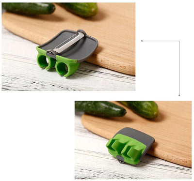Ergonomic Finger Peeler (3pcs)