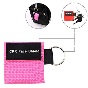 Sunyao - CPR Mask Keychain Ring Emergency Kit (20 pcs)