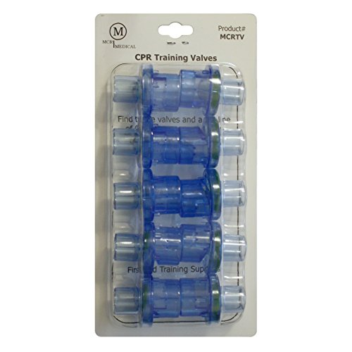 MCR - CPR Pocket Mask Training Valves (10 pcs)