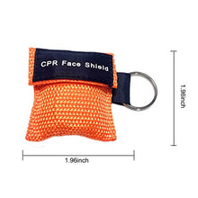 Load image into Gallery viewer, Sunyao - CPR Mask Keychain Ring Emergency Kit (20 pcs)
