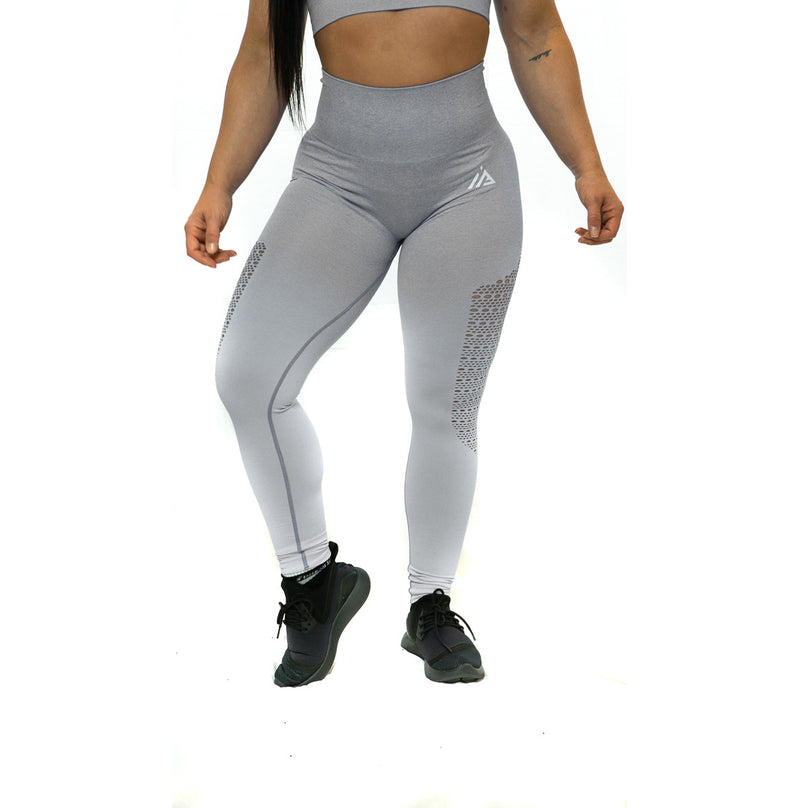 THE IRON PEACH SCRUNCH LEGGINGS (Grey)