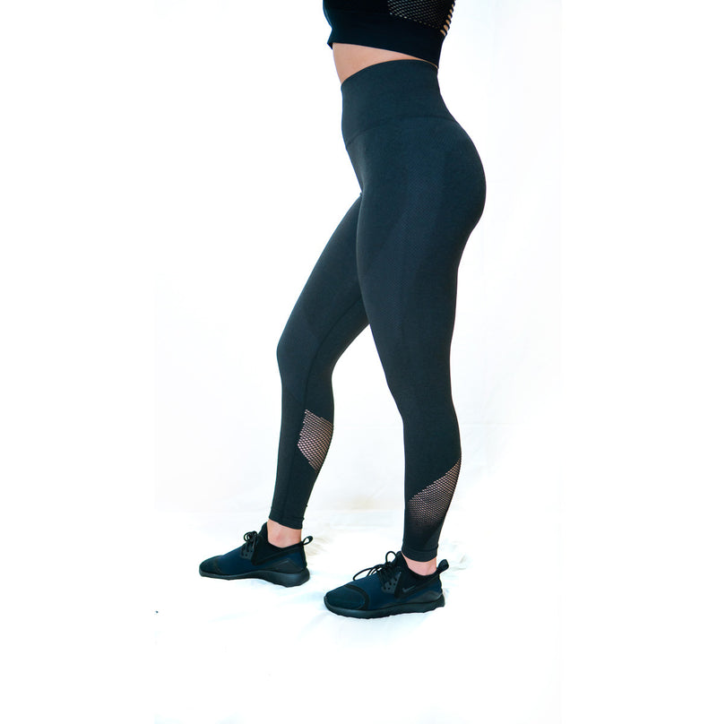 INSPIRE SEAMLESS LEGGINGS (Charcoal)