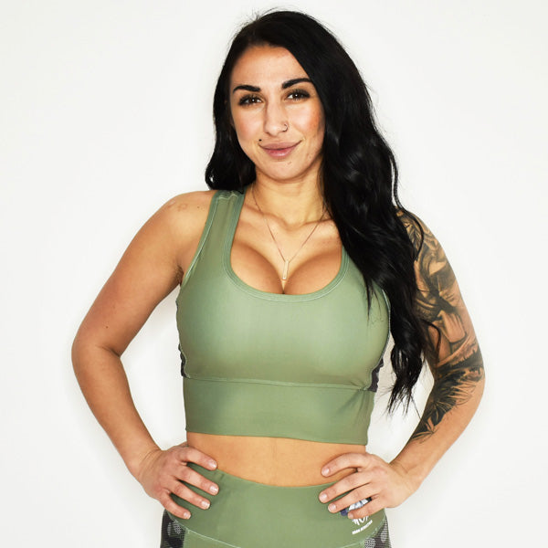 CLASSIC ANGEL SPORTS BRA TOP (Camo)