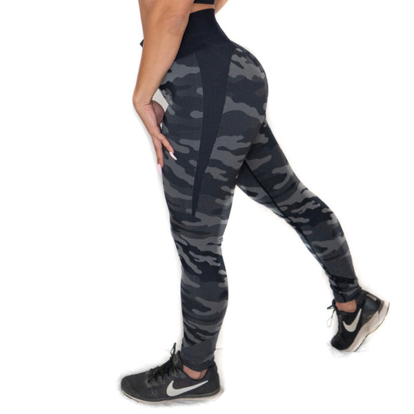 Seamless Camo Leggings