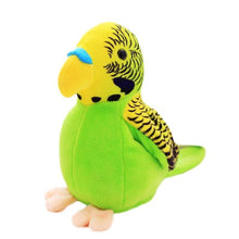 Load image into Gallery viewer, Bright-Colored Plush Parrot Toy