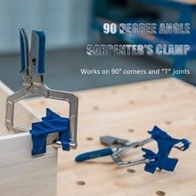Load image into Gallery viewer, 90° Angle Carpenter's Clamp