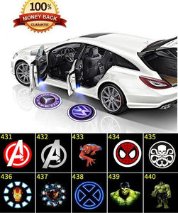 Car Door Paste Projector Light - Design Logo (1Pair)