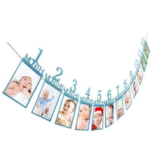 Load image into Gallery viewer, Baby Birthday Banner