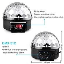 Load image into Gallery viewer, Crystal Magic Ball Disco Light