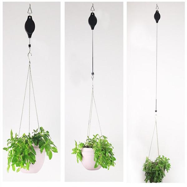 (Limited time 50% off)Plant Hook Pulley - Easy Way to Care For Your Hanging Plants!
