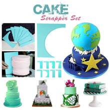 Load image into Gallery viewer, 8-Style Cake Scrapers