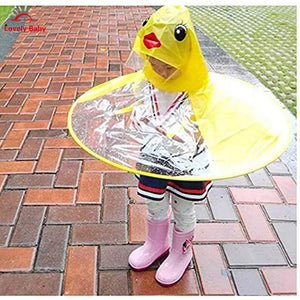 Yellow Duck Rain Cover