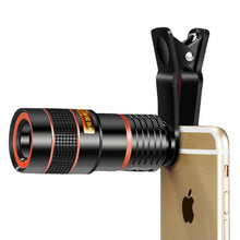Load image into Gallery viewer, 12X Zoom Cell Phone Telescope Lens
