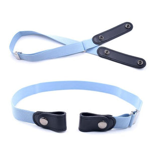 20 Styles Buckle-Free Waist Belt For Jeans Pants,No Buckle Stretch Elastic Waist Belt For Women/Men,No Hassle Belt