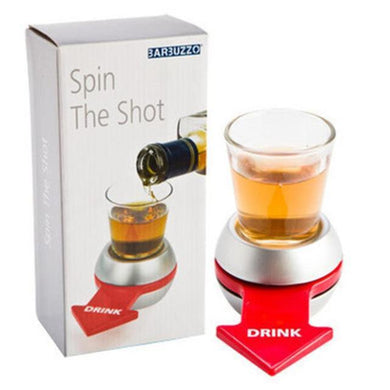 Spin the Shot Glass Fun Drinking Game (Party Gift)