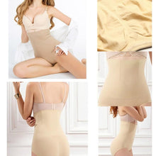 Load image into Gallery viewer, High Waist Tummy Tuck Waist Shaping Panty