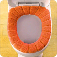 Load image into Gallery viewer, Colored Toilet Seat Cover