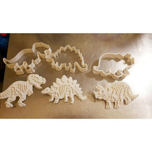 Load image into Gallery viewer, Dino Cookie Cutter Set